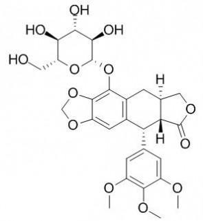 (-)-beta-Peltatin-5-O-beta-D-glucopyranoside