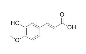 3-Hydroxy-4-methoxycinnamic acid