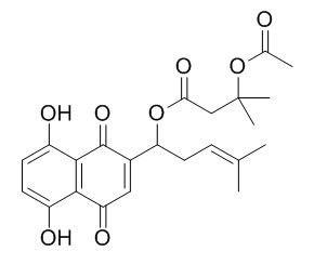 Acetoxyisovalerylalkannin