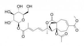 Pseudolaric acid B-O-beta-D-glucopyranoside