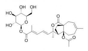 Pseudolaric acid A-O-beta-D-glucopyranoside