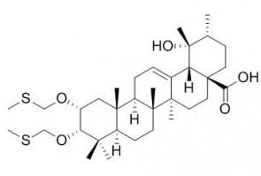 2,3-Di-O-methylthiomethyleuscaphic acid